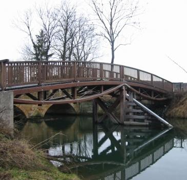 Gehwegbrücke über die Hunte