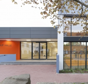 Sporthalle Glück-Auf in Barsinghausen